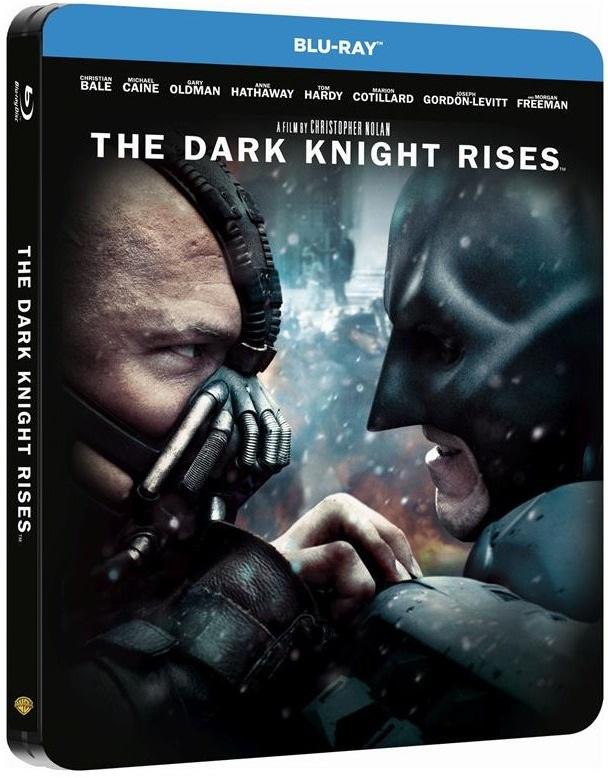 Batman - The Dark Knight rises (2012) (Limited Edition, Steelbook, 2 Blu-rays)