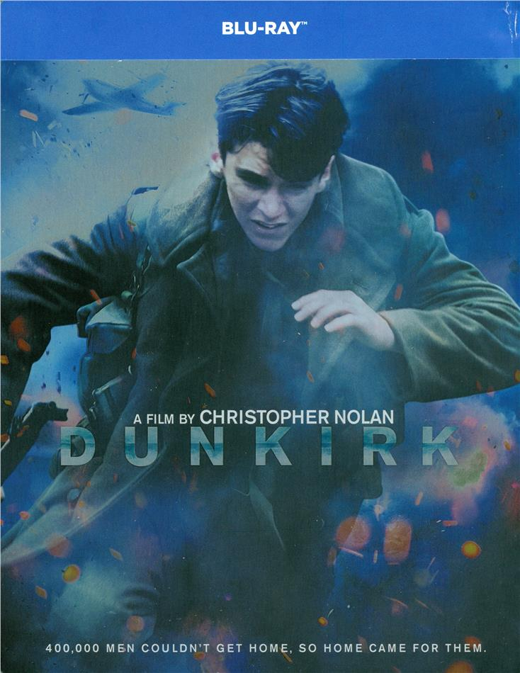 Dunkirk (2017) (Limited Edition, Steelbook, 2 Blu-rays)