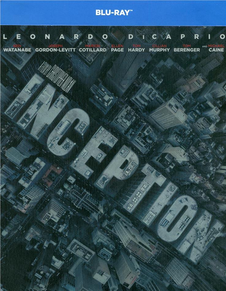 Inception (2010) (Limited Edition, Steelbook, 2 Blu-rays)