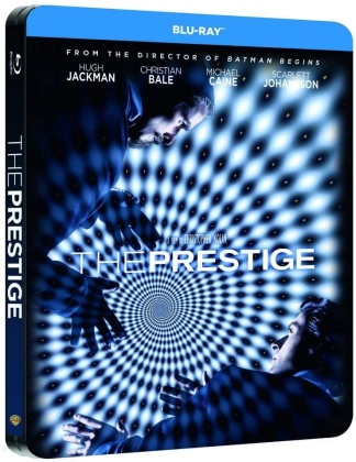 The Prestige (2006) (Limited Edition, Steelbook, 2 Blu-rays)