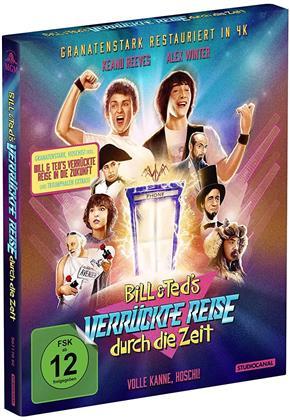 Bill & Teds verrückte Reise durch die Zeit / Bill & Teds verrückte Reise in die Zukunft (Limited Collector's Edition, 2 Blu-rays)