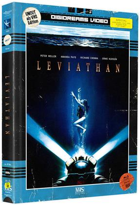 Leviathan (1989) (VHS-Edition, Limited Edition, Mediabook, Uncut, Blu-ray + DVD)