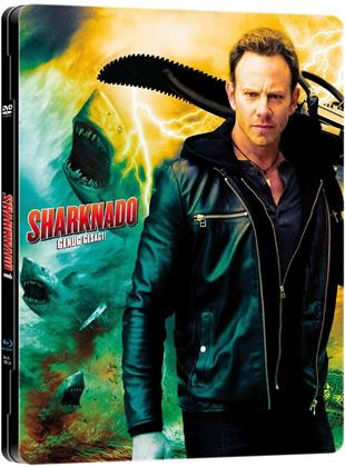 Sharknado (2013) (MetalPak, Limited Edition, Uncut, Blu-ray + DVD)