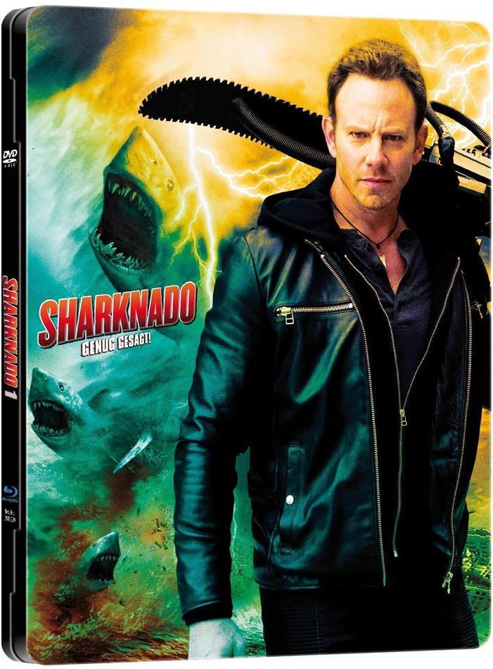 Sharknado (2013) (MetalPak, Limited Edition, Uncut, Blu-ray + DVD)