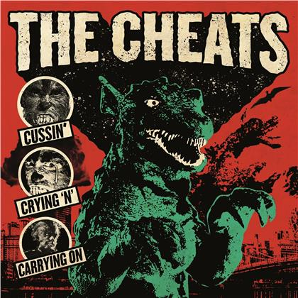 The Cheats - Cussin', Crying 'N' Carrying On (LP)