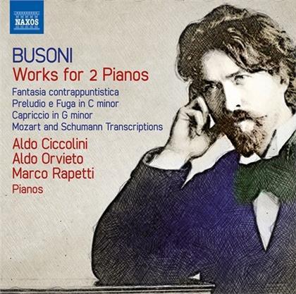 Ferruccio Busoni (1866-1924), Aldo Ciccolini, Aldo Orvieto & Marco Rapetti - Works For 2 Pianos