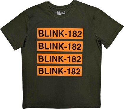 Blink-182 Unisex Tee - Log Repeat