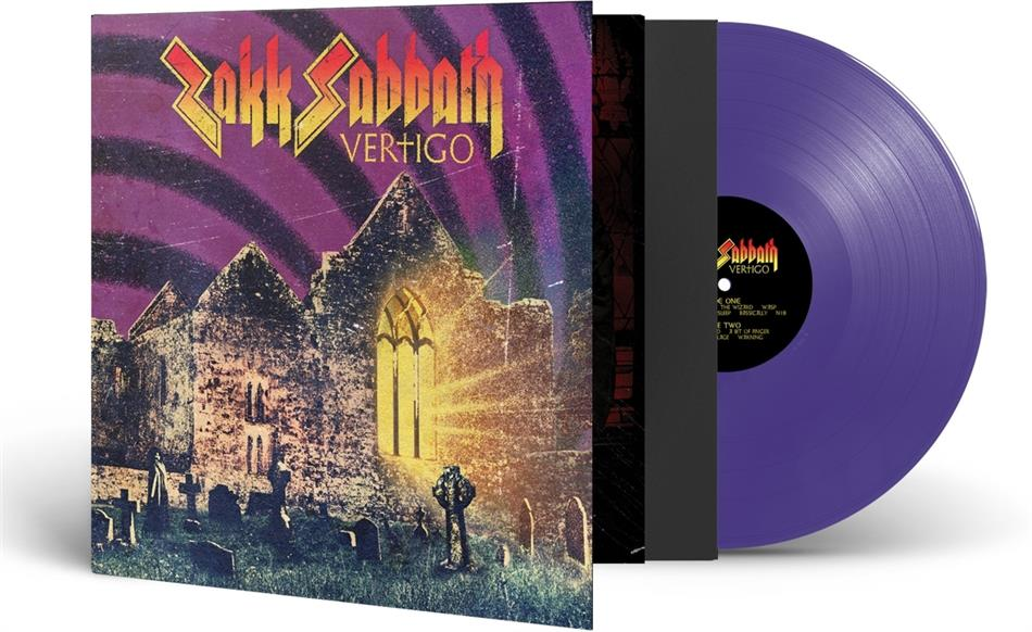 Zakk Sabbath (Zakk Wylde) - Vertigo (Gatefold, Limited Edition, Purple Vinyl, LP)