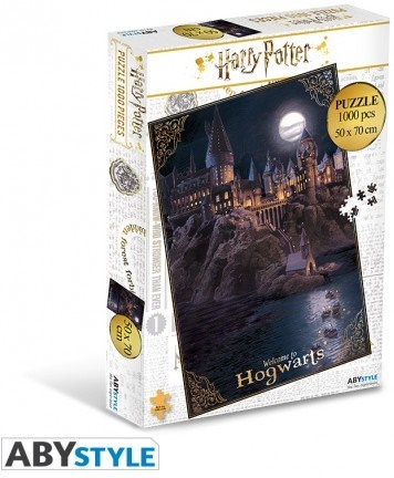 Harry Potter: Welcome to Hogwarts - ABYstyle 1000 Piece Puzzle