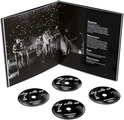 Tocotronic - Sag Alles Ab (The Best Of 1994-2020) (Boxset, 4 CDs + Buch)