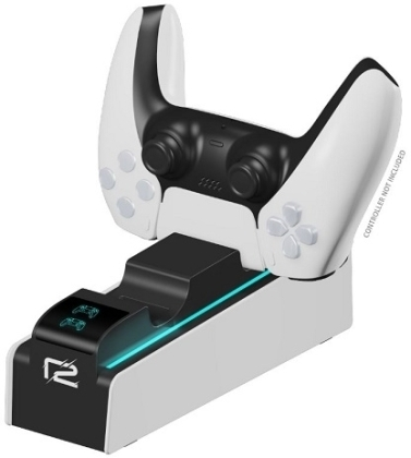ready2gaming PS5 DualSense Charging Station white