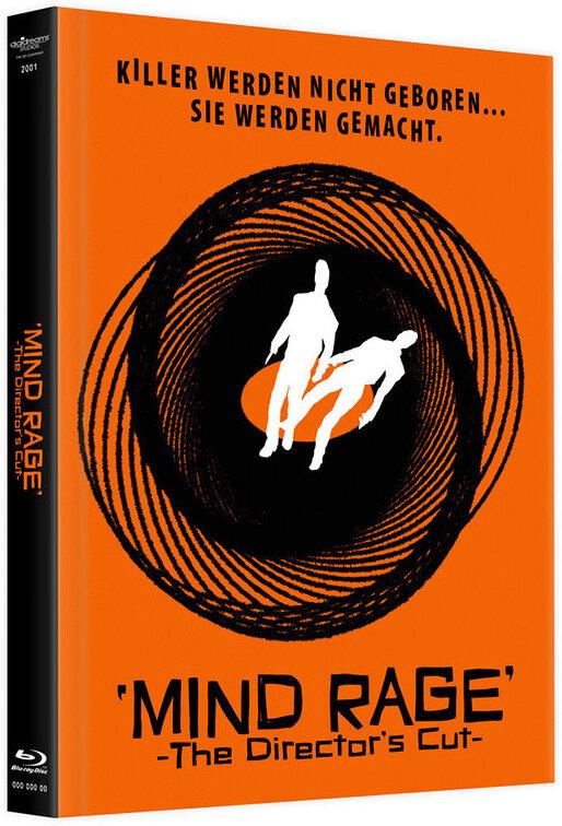 Mind Rage (2001) (Director's Cut, Limited Edition, Mediabook, Blu-ray + DVD)
