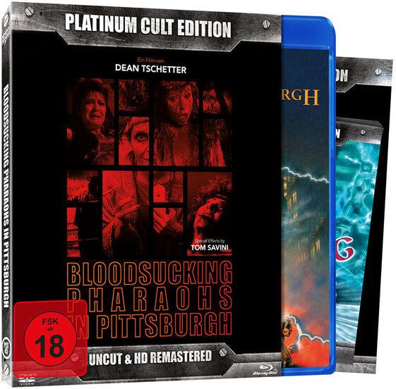 Bloodsucking Pharaos in Pittsburgh (1991) (Platinum Cult Edition, Remastered, Uncut, 2 Blu-rays)