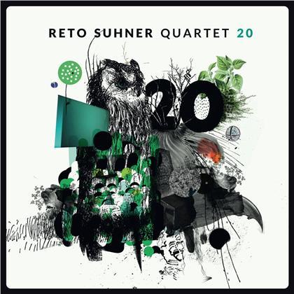 Reto Suhner Quartet - 20 (LP + Digital Copy)