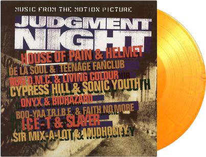 Judgment Night (2020 Reissue, Music On Vinyl, Limited Edition, Flaming Vinyl, LP)