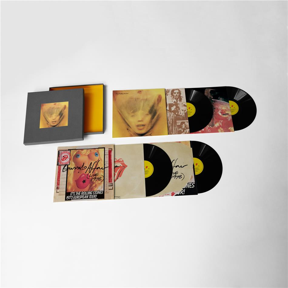 The Rolling Stones - Goats Head Soup (Super Deluxe Edition, 2020 Reissue, Boxset, 4 LPs)