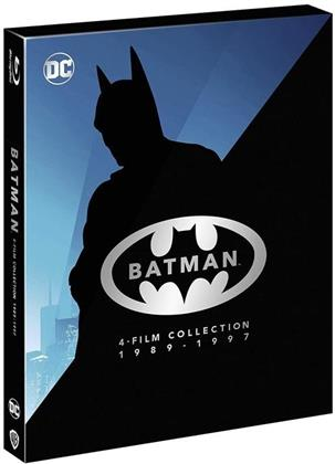 Batman Anthology - 4-Film Collection 1989 - 1997 (Riedizione, 4 Blu-ray)