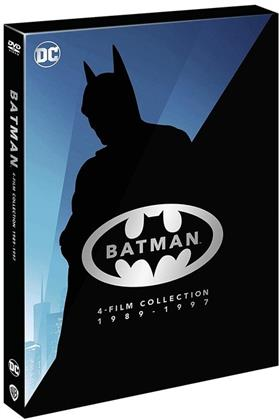 Batman Anthology - 4-Film Collection 1989 - 1997 (Riedizione, 4 DVD)