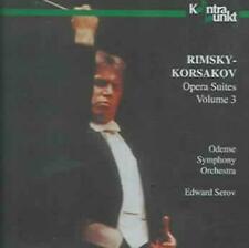 Nikolai Rimsky-Korssakoff (1844-1908), Eduard Serov & Odense Symphony Orchestra - Opera Suite Volume 3