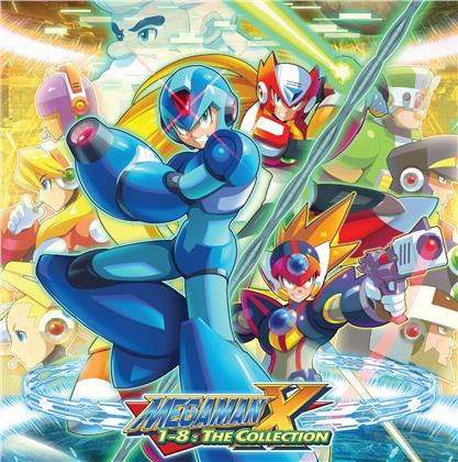 Mega Man X 1-8: The Collection - OST (8 LPs)