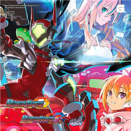 Blaster Master Zero & Blaster Master Zero 2 - OST (Deluxe Edition, 4 LPs)