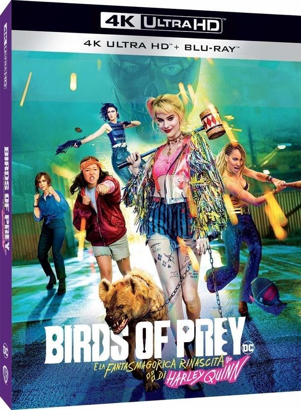 Birds of Prey - e la fantasmagorica rinascita di Harley Quinn (2020) (4K Ultra HD + Blu-ray)