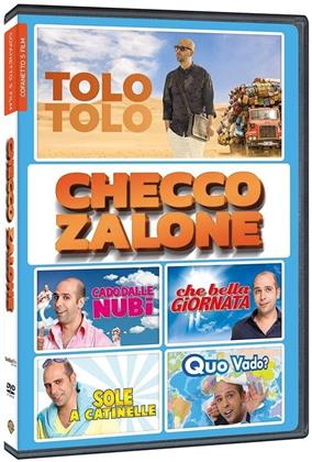 Checco Zalone - 5 Film-Boxset (5 DVDs)
