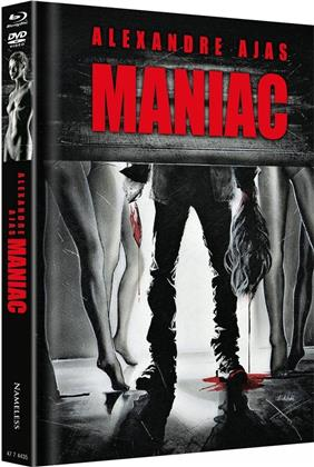 Maniac (2012) (Cover D, Limited Edition, Mediabook, Uncut, 4K Ultra HD + 2 Blu-rays + 2 DVDs + CD)