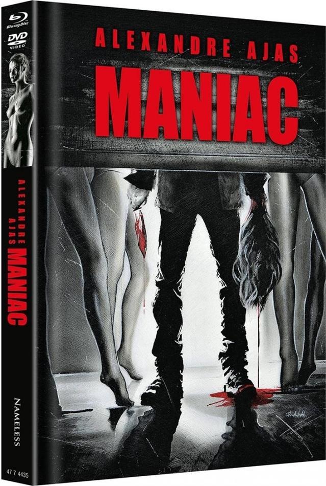 Maniac (2012) (Cover D, Limited Edition, Mediabook, Uncut, 4K Ultra HD + 2 Blu-rays + 2 DVDs + CD)