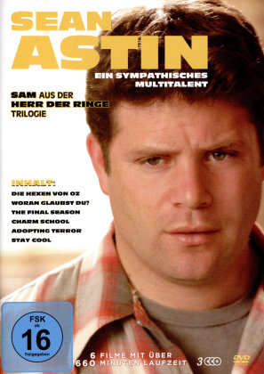 Sean Astin - Ein sympathisches Multitalent - Die Hexen von Oz / Woran glaubst du? / The Final Season / Charm School / Adopting Terror / Stay cool (3 DVDs)
