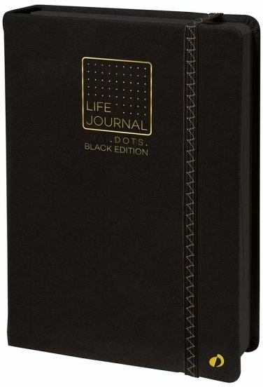 Life Journal 21 Dot Black Papier sw 2022