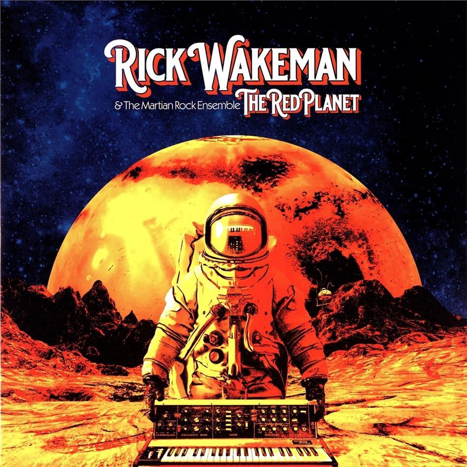 Rick Wakeman - Red Planet (Gatefold, Madfish Records UK, 2 LPs)
