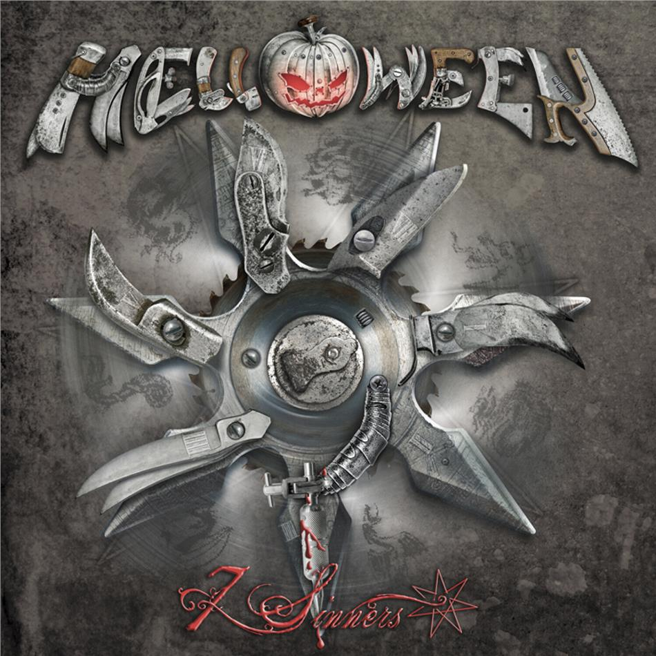 Helloween - 7 Sinners (2020 Reissue, Nuclear Blast, Remastered, Clear Vinyl, 2 LPs)
