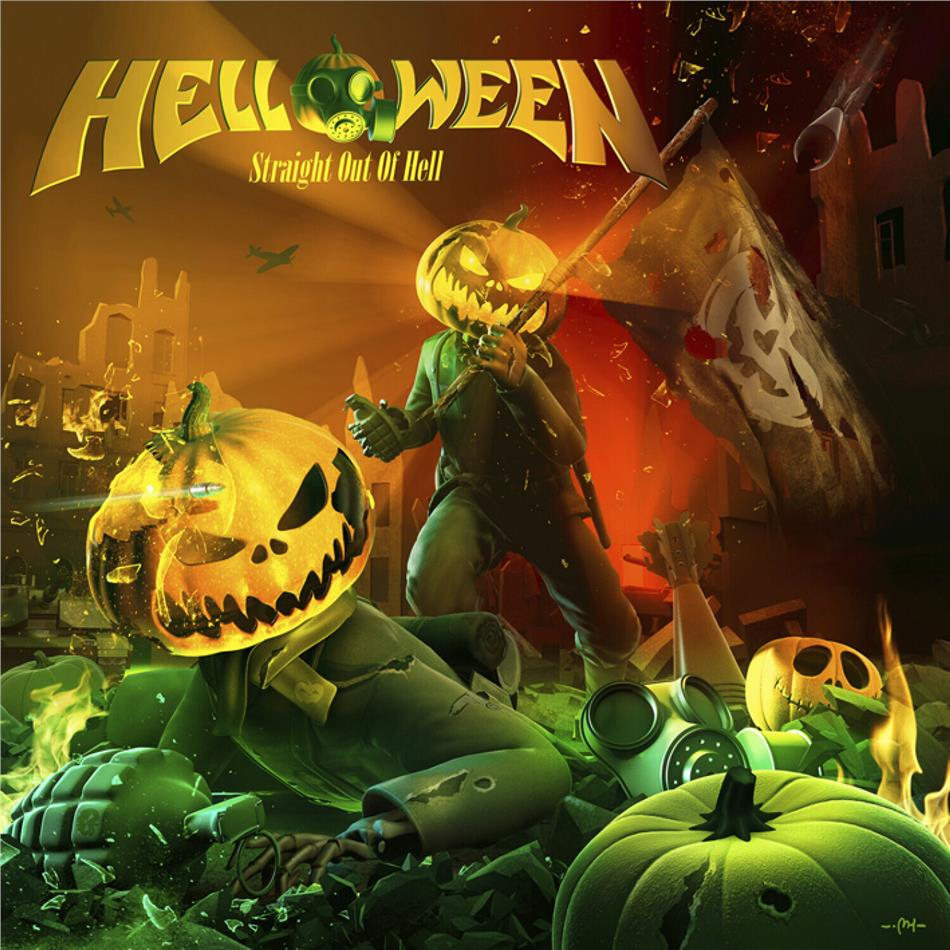 Helloween - Straight Out Of Hell (2020 Reissue, Nuclear Blast, Remastered)