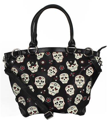 Banned: Mesmerize Skull - Handbag
