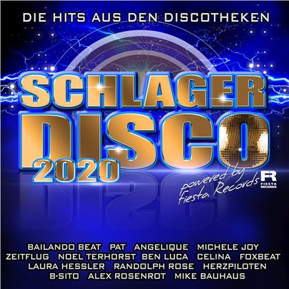 Schlagerdisco 2020 - die Hits aus den Discotheken (2 CDs)