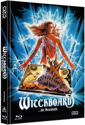 Witchboard - Die Hexenfalle (1986) (Cover E, Mediabook, Uncut, Blu-ray + DVD)