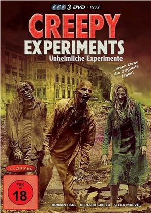 Creepy Experiments - Unheimliche Experimente (Uncut, 3 DVD)