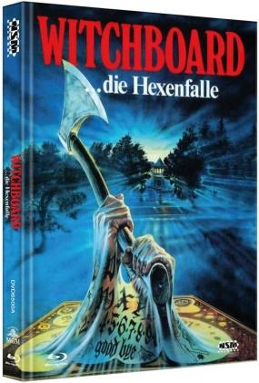 Witchboard - Die Hexenfalle (1986) (Cover A, Mediabook, Uncut, Blu-ray + DVD)