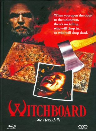 Witchboard - Die Hexenfalle (1986) (Cover C, Mediabook, Uncut, Blu-ray + DVD)