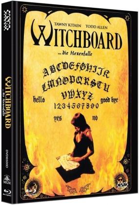 Witchboard - Die Hexenfalle (1986) (Cover D, Mediabook, Uncut, Blu-ray + DVD)