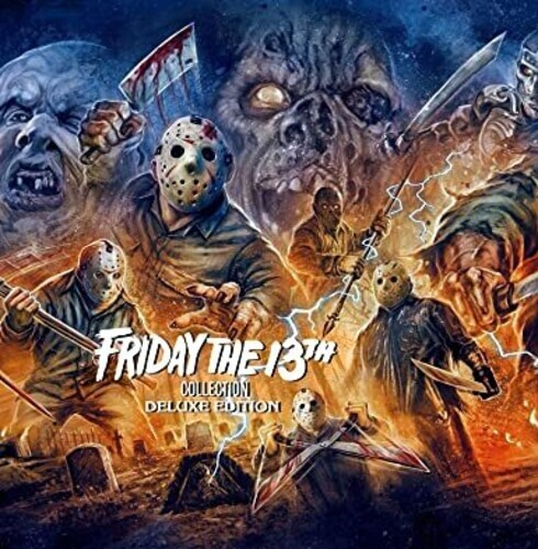 Friday The 13th Collection (Deluxe Edition, 16 Blu-rays)