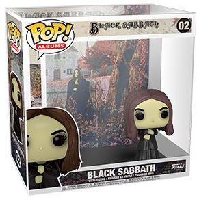 Funko Pop! Albums: - Black Sabbath - Black Sabbath
