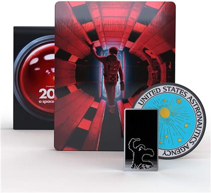 2001: Space Odyssey (1968) (Steelbook, 4K Ultra HD + 2 Blu-rays)