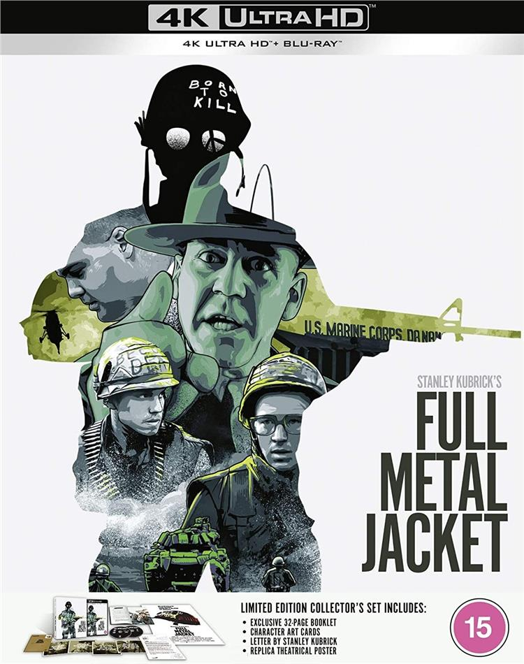 Full Metal Jacket (1987) (Limited Collector's Edition, 4K Ultra HD + Blu-ray)