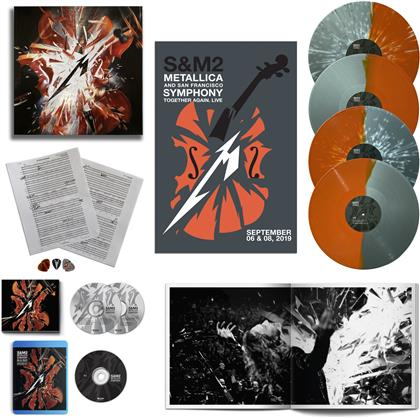 Metallica - S&M2 (Deluxe Boxset, Limited, 2 CDs + 4 LPs + Blu-ray + Digital Copy)