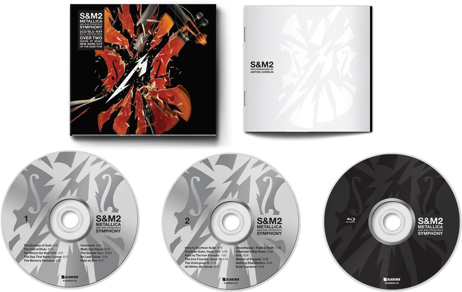 Metallica - S&M2 (2 CDs + Blu-ray)
