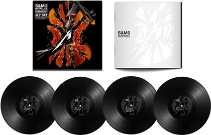 Metallica - S&M2 (Limited, Black Vinyl, 4 LPs)