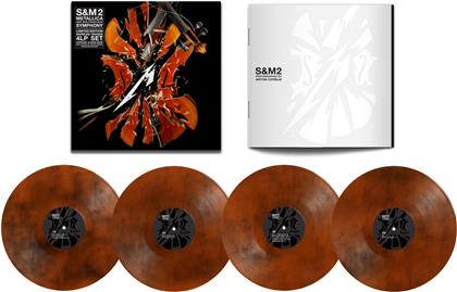 Metallica - S&M2 (Limited, Colored, 4 LPs + Digital Copy)