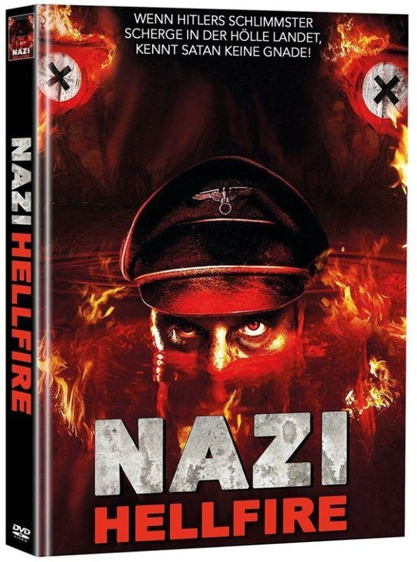 Nazi Hellfire (2015) (Super Spooky Stories, Cover A, Director's Cut, Limited Edition, Mediabook, Unrated, 2 DVDs)